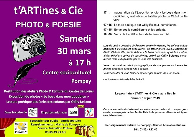 tARTines Cie 30 mars